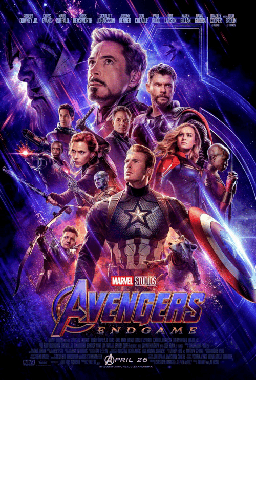 endgame: Not a meme just here to say that 1 year ago Avengers Endgame came out and it broke the world