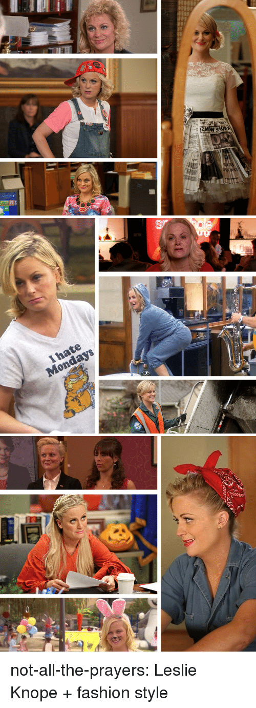 Knope: not-all-the-prayers: Leslie Knope + fashion  style