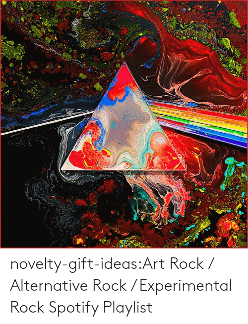 Spotify: novelty-gift-ideas:Art Rock / Alternative Rock / Experimental Rock Spotify Playlist