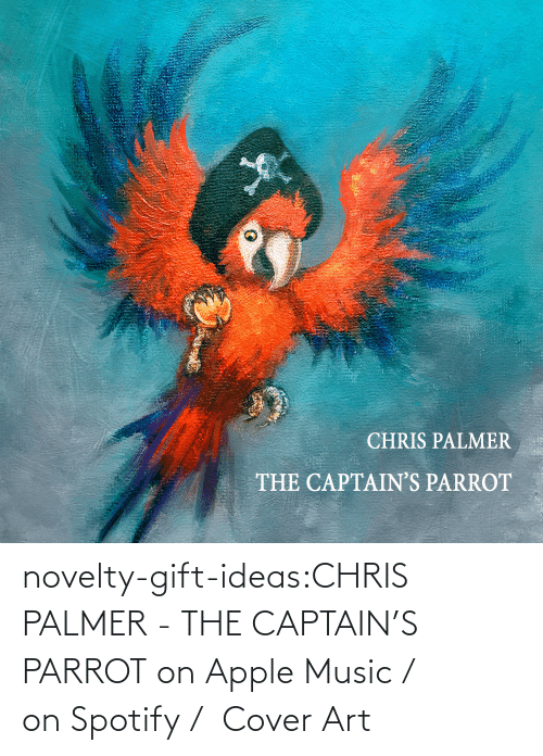 art: novelty-gift-ideas:CHRIS PALMER - THE CAPTAIN'S PARROT on Apple Music /  on Spotify /  Cover Art