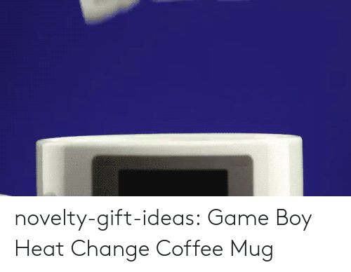 Coffee Mug: novelty-gift-ideas:  Game Boy Heat Change Coffee Mug