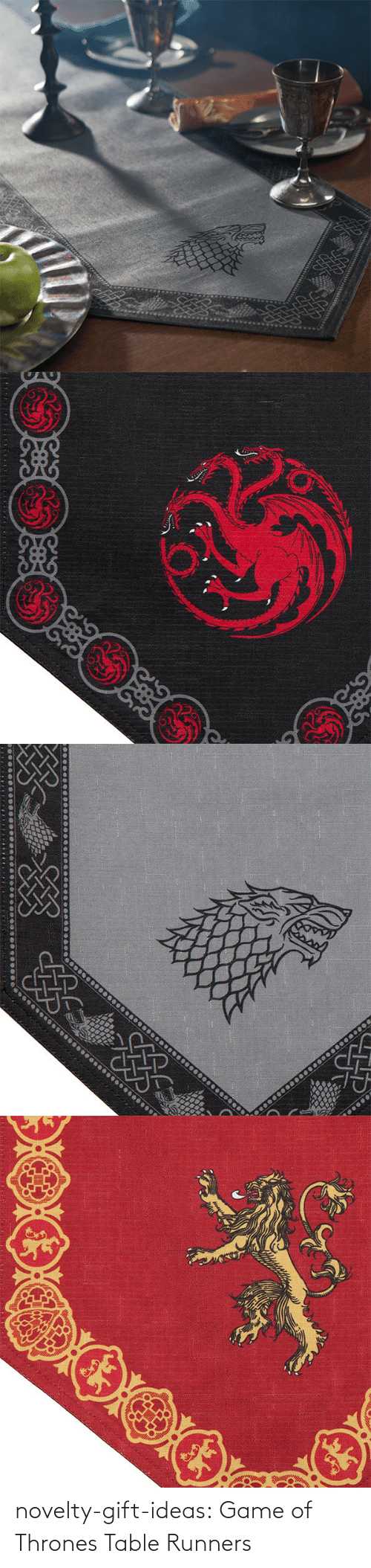 Of Thrones: novelty-gift-ideas:  Game of Thrones Table Runners