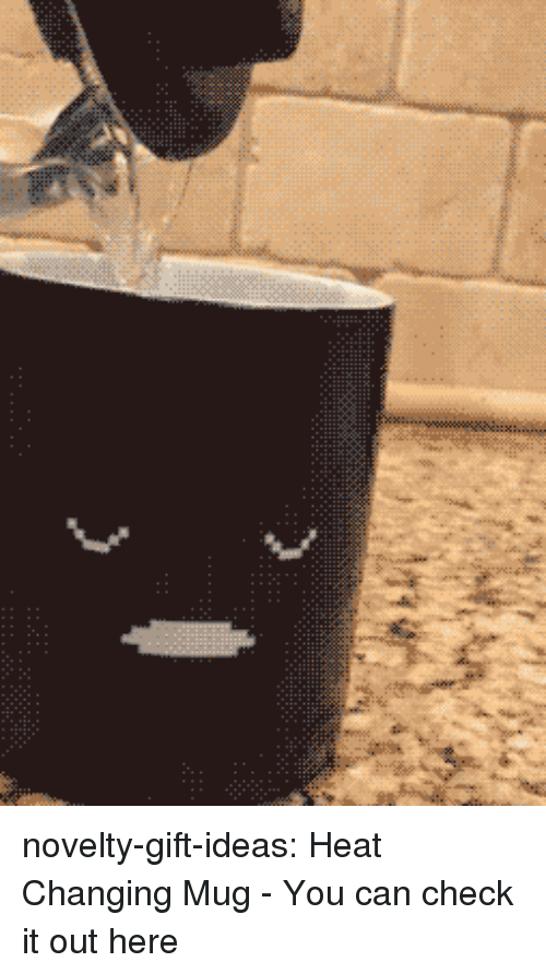 Tumblr, Blog, and Heat: novelty-gift-ideas:  Heat Changing Mug - You can check it out here