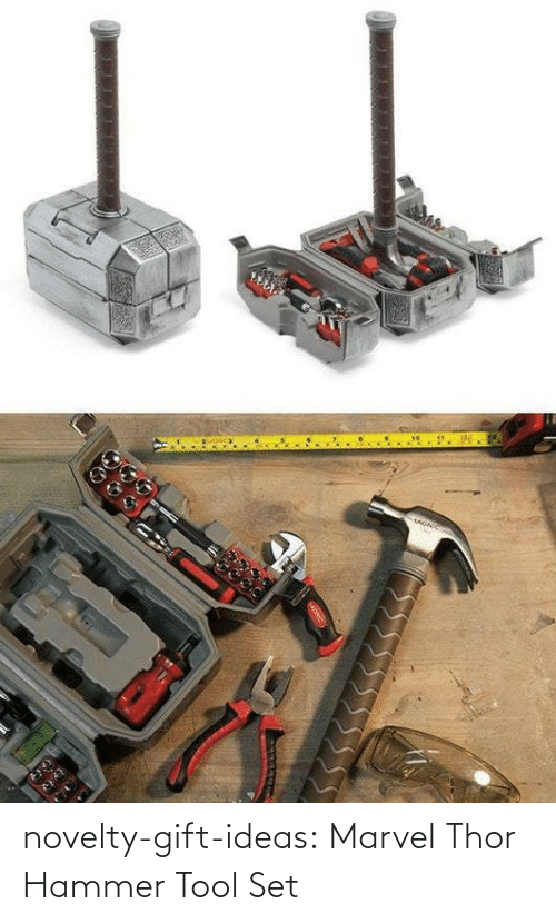 ideas: novelty-gift-ideas:  Marvel Thor Hammer Tool Set