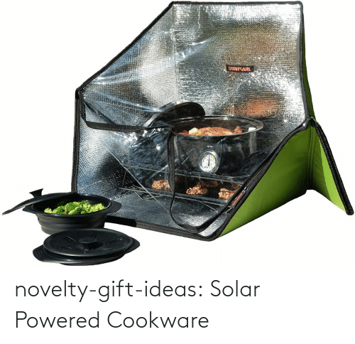 ideas: novelty-gift-ideas:  Solar Powered Cookware