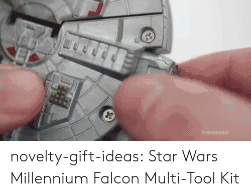 millennium: novelty-gift-ideas: Star Wars Millennium Falcon Multi-Tool Kit