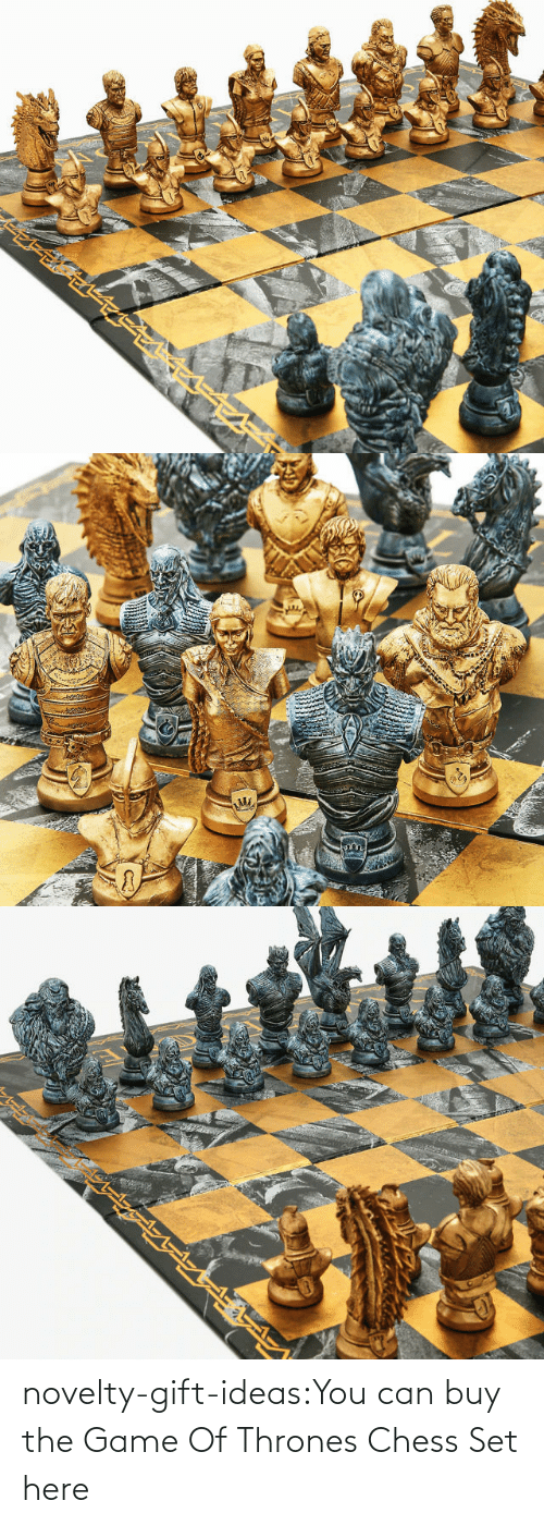 Here: novelty-gift-ideas:You can buy the   Game Of Thrones Chess Set here