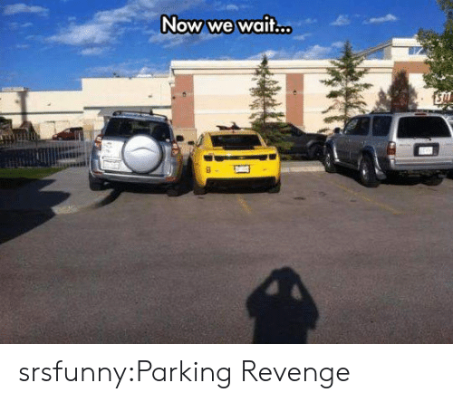 Revenge, Tumblr, and Blog: Now we wait... srsfunny:Parking Revenge