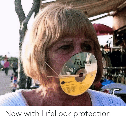 now: Now with LifeLock protection