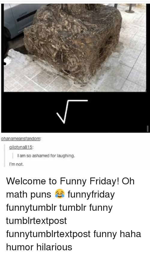 nsf: nsf  gilotyna815:  am so ashamed for laughing.  I'm not. Welcome to Funny Friday! Oh math puns 😂 funnyfriday funnytumblr tumblr funny tumblrtextpost funnytumblrtextpost funny haha humor hilarious