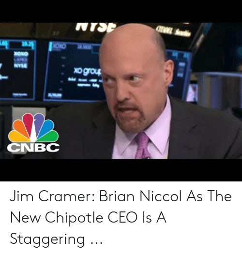 Jim Cramer: NTSP  NYSE  tho6ox  CNBC Jim Cramer: Brian Niccol As The New Chipotle CEO Is A Staggering ...