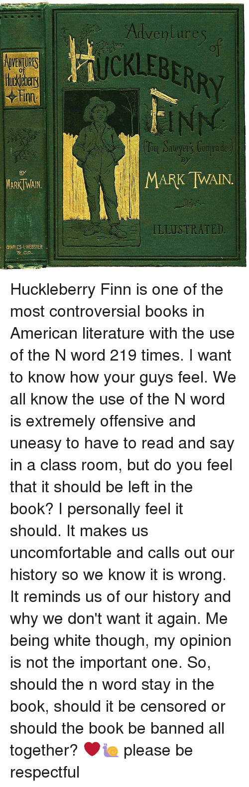 an analysis of the controversy in the adventures of huckleberry finn by mark twain Mark twain's adventures of huckleberry finn for more about adventures of huckleberry finn and teaching controversial topics, see huck finn in context.