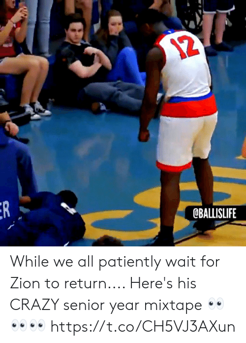 Mixtape: OBALLISLIFE While we all patiently wait for Zion to return.... Here's his CRAZY senior year mixtape 👀👀👀 https://t.co/CH5VJ3AXun