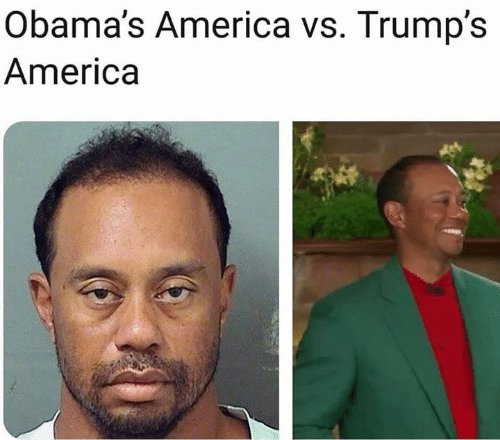 America, Memes, and 🤖: Obama's America vs. Trump's  America
