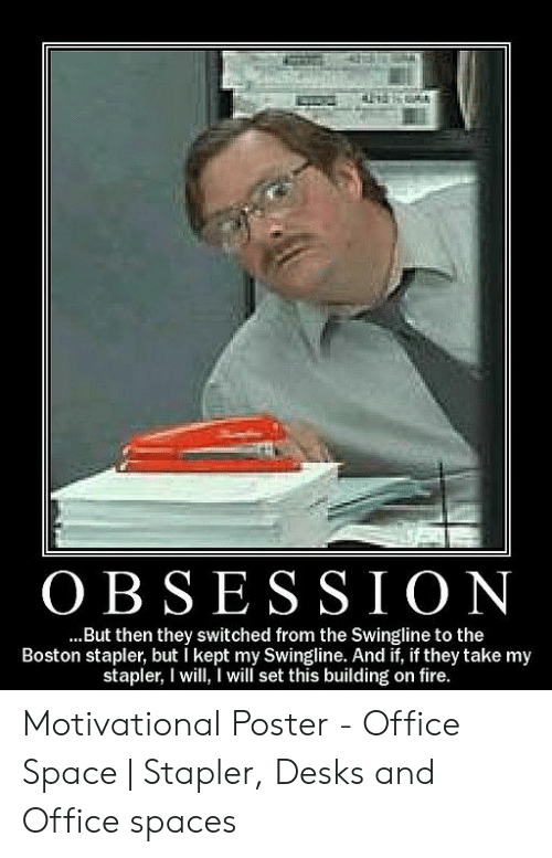 25 Best Memes About Office Space Stapler Office Space