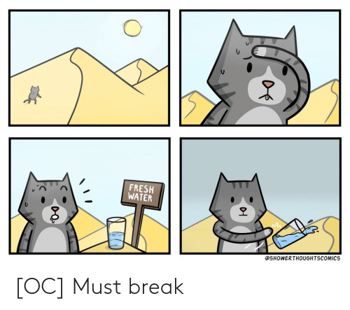 Break: [OC] Must break