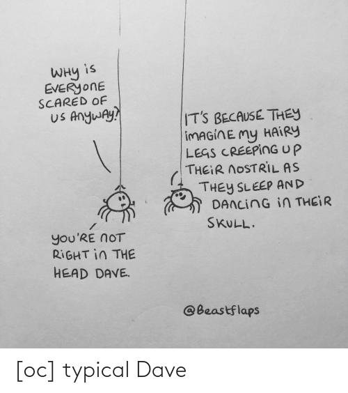 dave: [oc] typical Dave