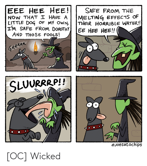 Wicked: [OC] Wicked
