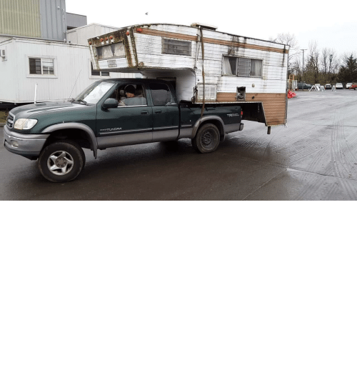 I Have: Occasionally I have to haul out the old stuff on a jobsite, before I begin building. I have never needed a bigger truck..