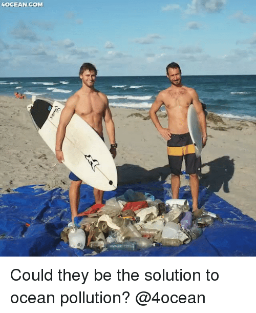 Funny, Memes, and Ocean: OCEAN.COM Could they be the solution to ocean pollution? @4ocean