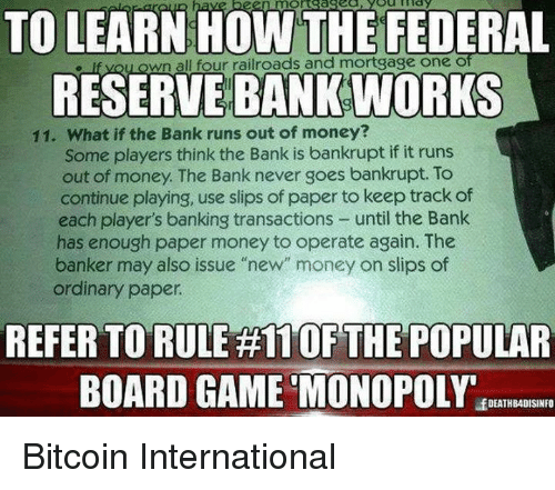 Oftease To Learn How The Federal Reserve Bank Works Wnall Four