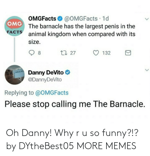 So Funny: Oh Danny! Why r u so funny?!? by DYtheBest05 MORE MEMES