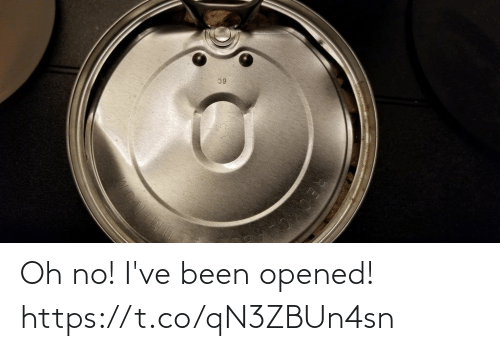 Faces-In-Things, Been, and Oh No: Oh no! I've been opened! https://t.co/qN3ZBUn4sn