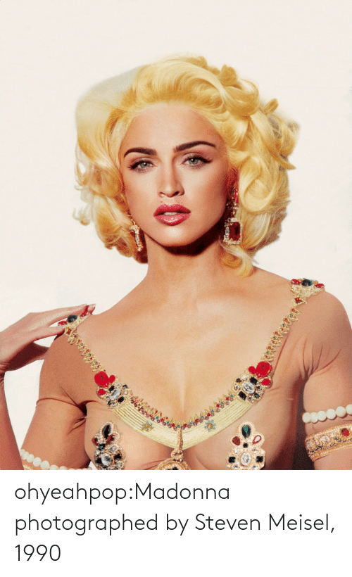madonna: ohyeahpop:Madonna photographed by Steven Meisel, 1990