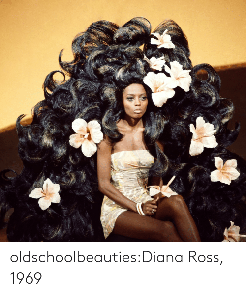 Diana Ross: oldschoolbeauties:Diana Ross, 1969