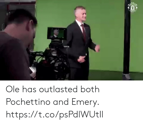 ole: Ole has outlasted both Pochettino and Emery. https://t.co/psPdlWUtIl