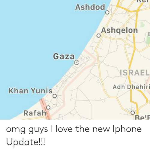 the new iphone: omg guys I love the new Iphone Update!!!