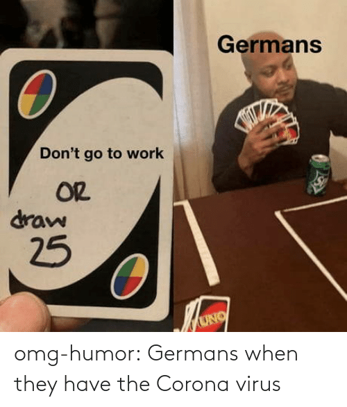 They Have: omg-humor:  Germans when they have the Corona virus