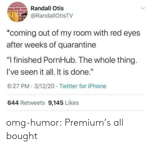 bought: omg-humor:  Premium's all bought