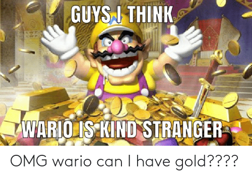 Can I Have: OMG wario can I have gold????