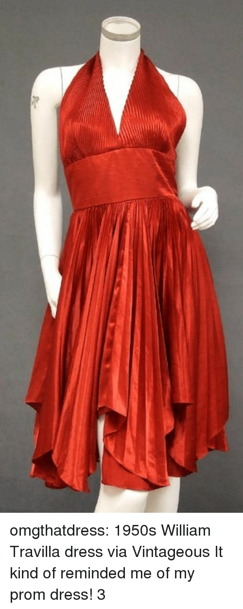 Prom Dress: omgthatdress:  1950s William Travilla dress via Vintageous  It kind of reminded me of my prom dress! 3
