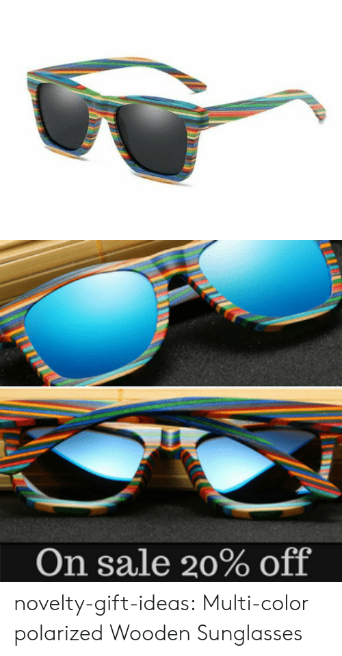 polarized: On sale 20% off novelty-gift-ideas:  Multi-color polarized Wooden Sunglasses