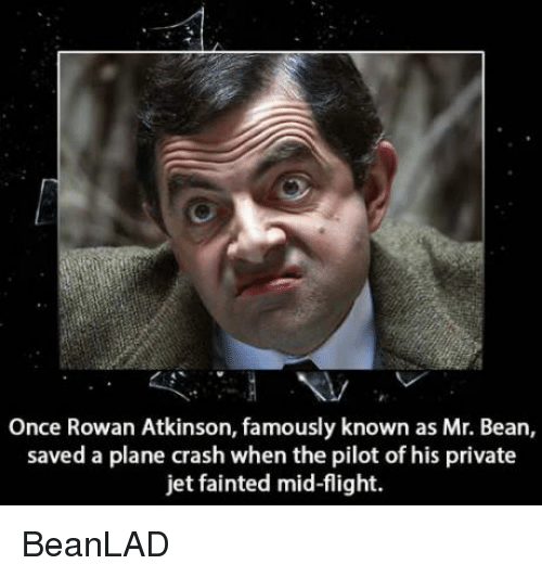Rowan Atkinson: Once Rowan Atkinson, famously known as Mr. Bean,  saved a plane crash when the pilot of his private  jet fainted mid-flight. BeanLAD