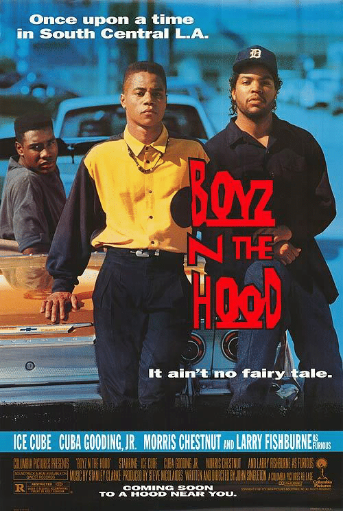 Morris: Once upon a time  in South Central L.A.  It ain't no fairy tale  ICE CUBE CUBA GOODING,JR. MORRIS CHESTNUT AND LARRYFISHBURNERİS  FURIOUS  COMING SOON  TO A HOOD NEAR YOU