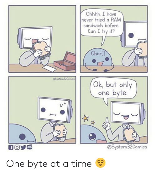 Time, One, and Byte: One byte at a time 😌