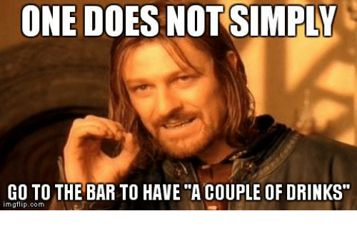 Going To The Bar