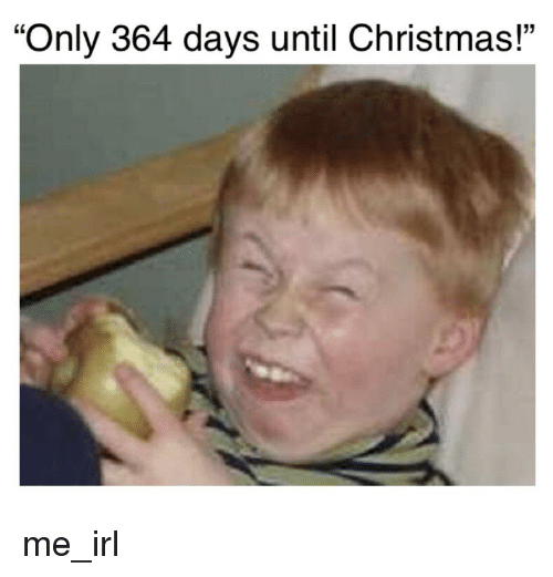 Days Until Christmas Meme.Only 364 Days Until Christmas Christmas Meme On