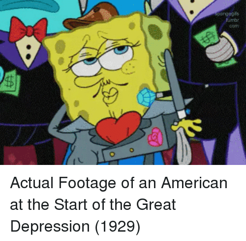 American, Depression, and Great Depression: onng Actual Footage of an American at the Start of the Great Depression (1929)