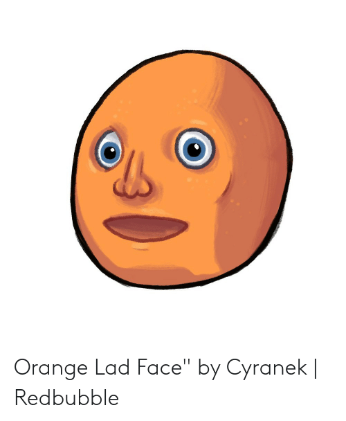 "Orange Lad: Orange Lad Face"" by Cyranek 