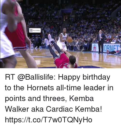 astrologymemes.com: ORNFT RT @Ballislife: Happy birthday to the Hornets all-time leader in points and threes, Kemba Walker aka Cardiac Kemba! https://t.co/T7w0TQNyHo