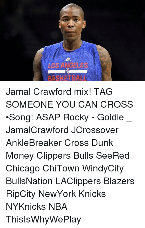 Basketball, Chicago, and Dunk: os ANDELE  BASKETBALL Jamal Crawford mix! TAG SOMEONE YOU CAN CROSS •Song: ASAP Rocky - Goldie _ JamalCrawford JCrossover AnkleBreaker Cross Dunk Money Clippers Bulls SeeRed Chicago ChiTown WindyCity BullsNation LAClippers Blazers RipCity NewYork Knicks NYKnicks NBA ThisIsWhyWePlay
