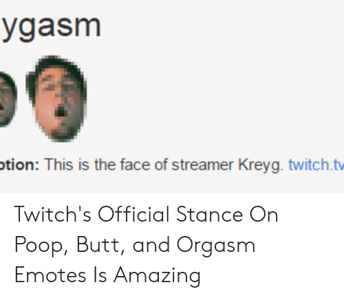 Otion This Is the Face of Streamer Kreyg Twitchtv Twitch's Official