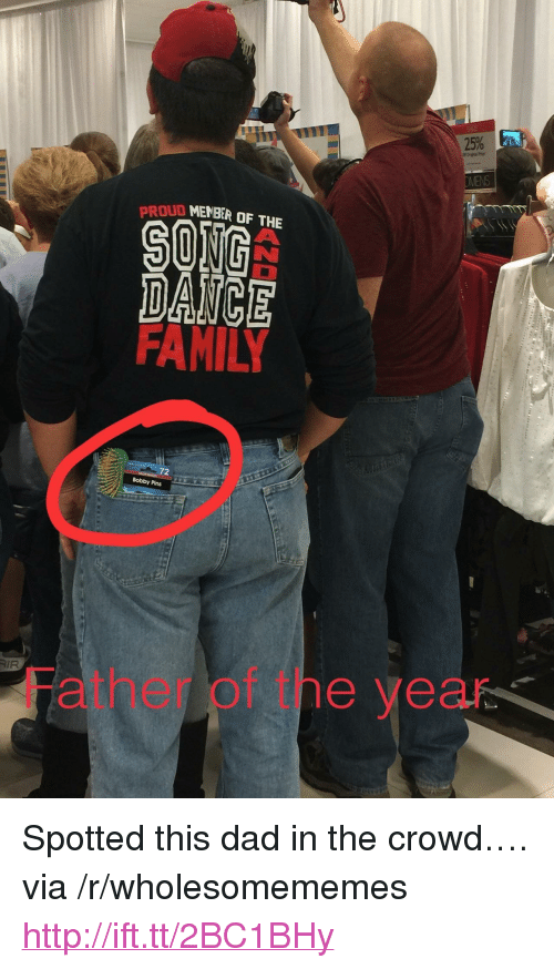 """oud: OUD MENBER OF THE  DAICE  72  Bobby Pins  AIR  Father of tne year <p>Spotted this dad in the crowd&hellip;. via /r/wholesomememes <a href=""""http://ift.tt/2BC1BHy"""">http://ift.tt/2BC1BHy</a></p>"""