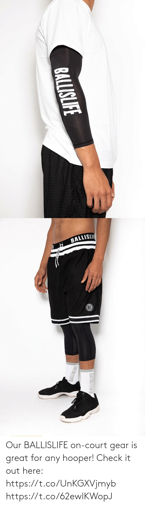 court: Our BALLISLIFE on-court gear is great for any hooper!  Check it out here: https://t.co/UnKGXVjmyb https://t.co/62ewlKWopJ