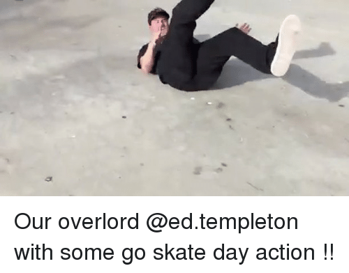templeton: Our overlord @ed.templeton with some go skate day action !!