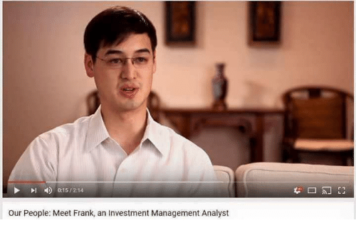 Management, Investment, and Investment Management: Our People: Meet Frank, an Investment Management Analyst